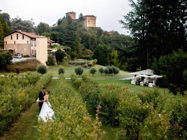 Il matrimonio di Davide e Elisa a Roppolo, Biella 72