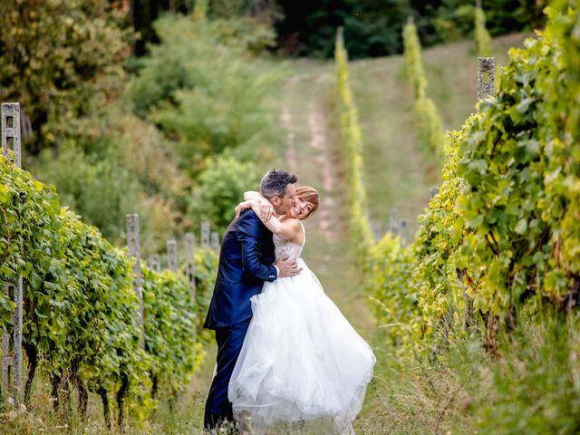 Il matrimonio di Davide e Elisa a Roppolo, Biella 75