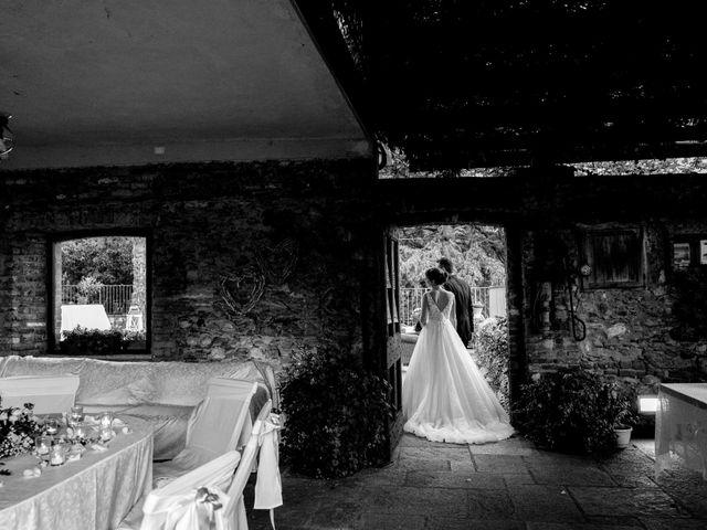 Il matrimonio di Davide e Elisa a Roppolo, Biella 78