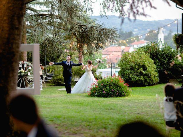 Il matrimonio di Davide e Elisa a Roppolo, Biella 83
