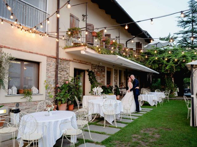Il matrimonio di Davide e Elisa a Roppolo, Biella 84