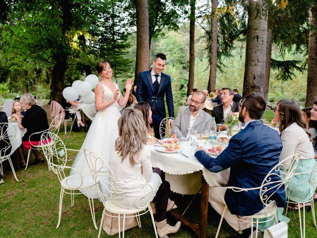 Il matrimonio di Davide e Elisa a Roppolo, Biella 88