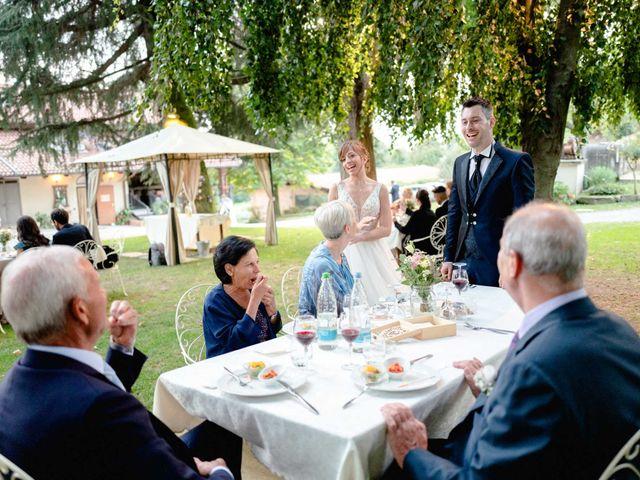 Il matrimonio di Davide e Elisa a Roppolo, Biella 90