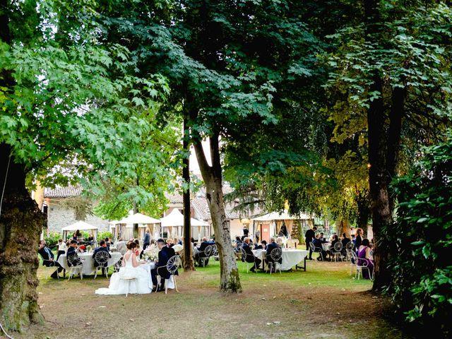 Il matrimonio di Davide e Elisa a Roppolo, Biella 94