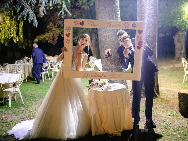 Il matrimonio di Davide e Elisa a Roppolo, Biella 98