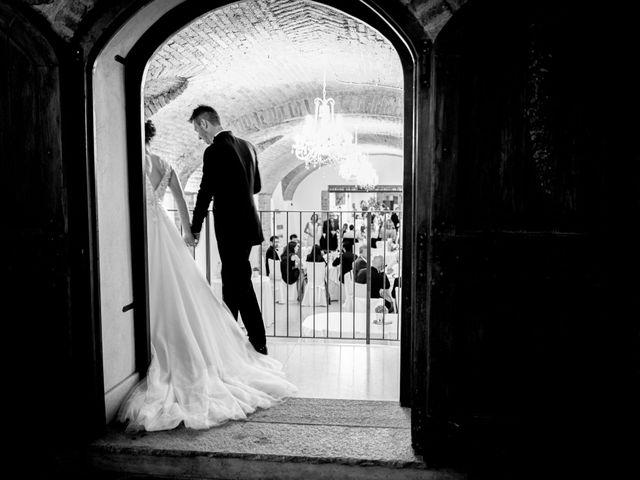 Il matrimonio di Davide e Elisa a Roppolo, Biella 99
