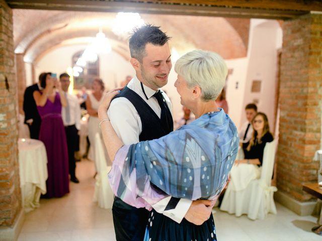Il matrimonio di Davide e Elisa a Roppolo, Biella 101
