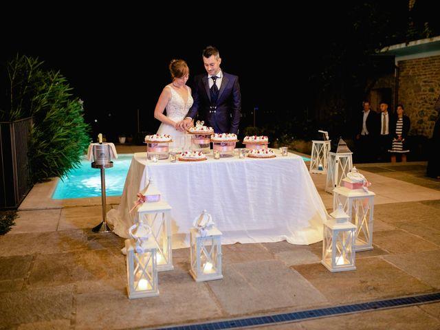 Il matrimonio di Davide e Elisa a Roppolo, Biella 104