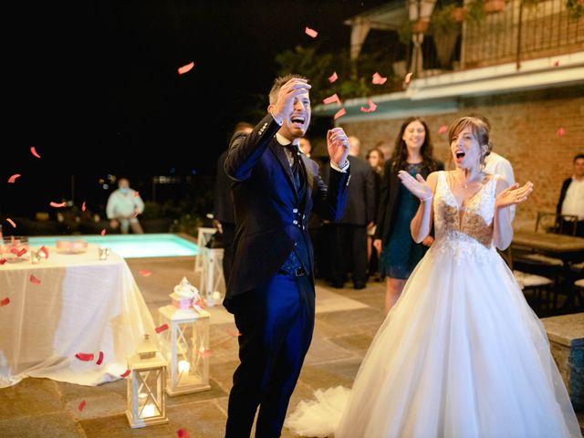 Il matrimonio di Davide e Elisa a Roppolo, Biella 105