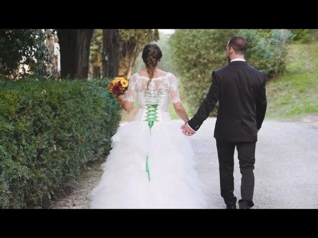 Il matrimonio di Andrea e Giulia a San Miniato, Pisa 1