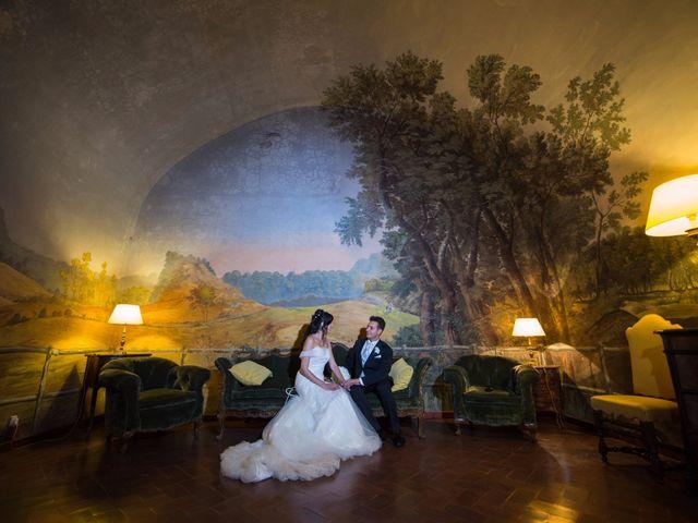 le nozze di Fabiola e Mario