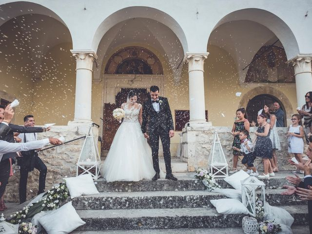 Il matrimonio di Nicola e Daniela a Tocco da Casauria, Pescara 31