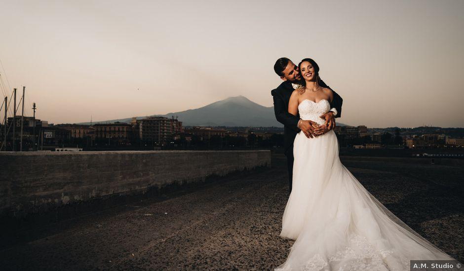 Il matrimonio di Emanuela e Santi a Catania, Catania