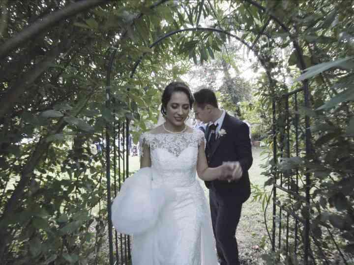 le nozze di Erik e Chiara