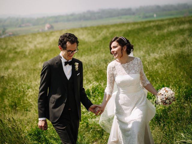 Il matrimonio di Giovanni e Serena a Godiasco, Pavia 1