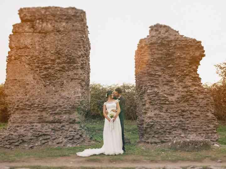 le nozze di Assunta e Cristiano