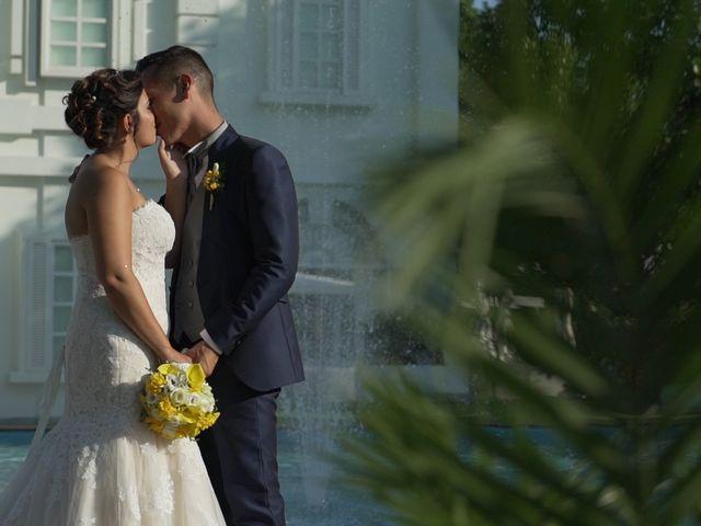 le nozze di Roberta e Marcello