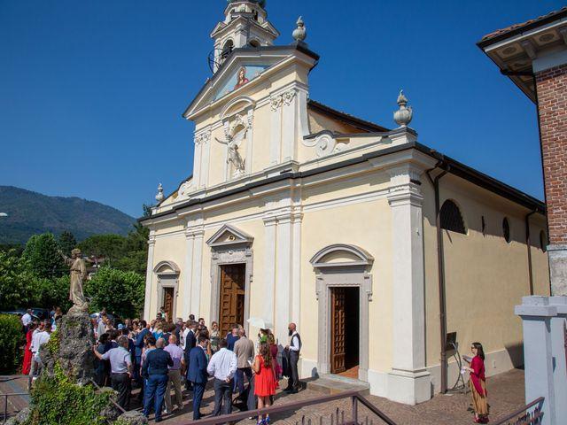 Il matrimonio di Riccardo e Anna a Angera, Varese 15