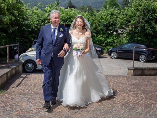 Il matrimonio di Riccardo e Anna a Angera, Varese 19