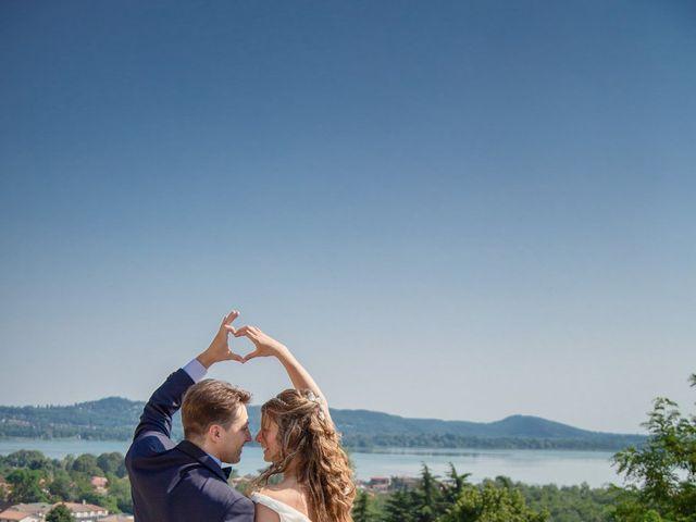 Il matrimonio di Riccardo e Anna a Angera, Varese 22