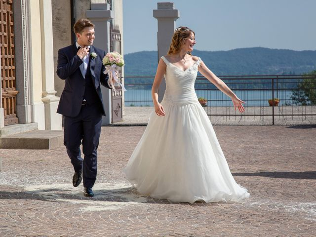 Il matrimonio di Riccardo e Anna a Angera, Varese 23