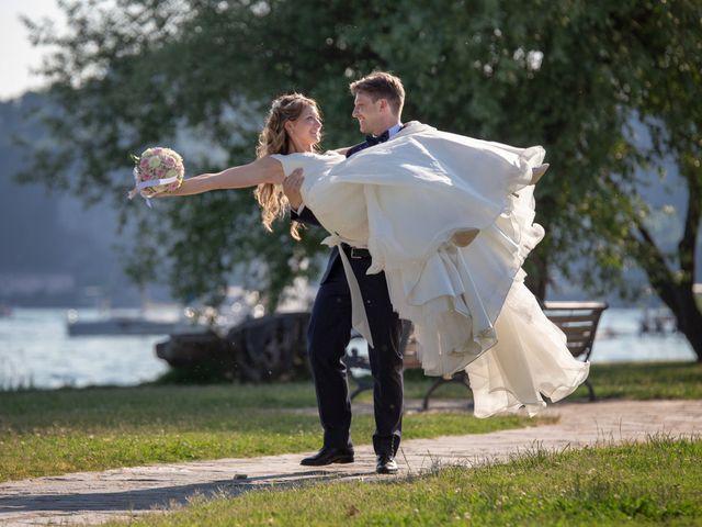 Il matrimonio di Riccardo e Anna a Angera, Varese 27