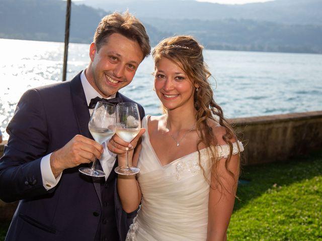 Il matrimonio di Riccardo e Anna a Angera, Varese 32