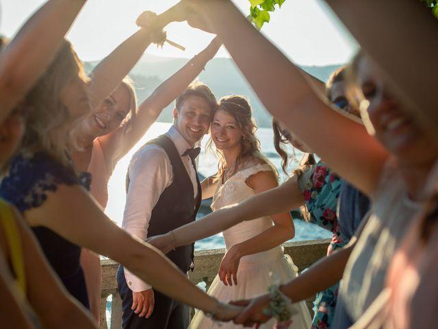 Il matrimonio di Riccardo e Anna a Angera, Varese 33