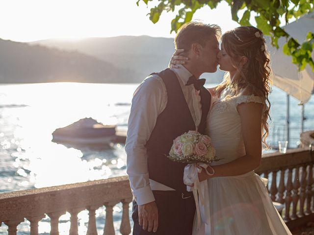 Il matrimonio di Riccardo e Anna a Angera, Varese 35