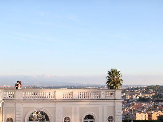 Il matrimonio di Francesca e Daniele a Roma, Roma 55
