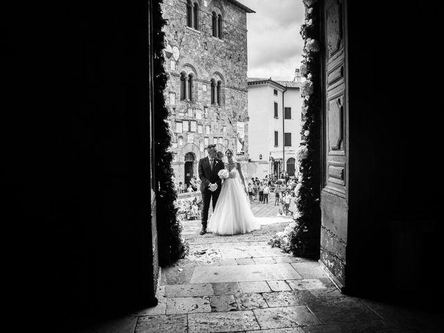 Il matrimonio di Valentina e Stefano a Massa Marittima, Grosseto 32