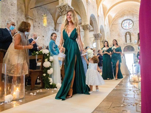 Il matrimonio di Valentina e Stefano a Massa Marittima, Grosseto 34