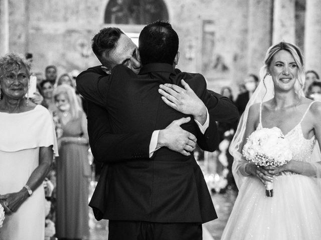 Il matrimonio di Valentina e Stefano a Massa Marittima, Grosseto 37