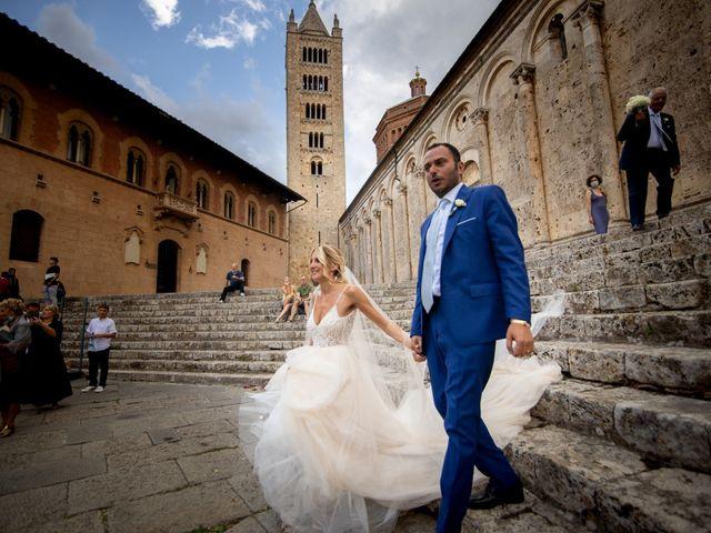 Il matrimonio di Valentina e Stefano a Massa Marittima, Grosseto 48