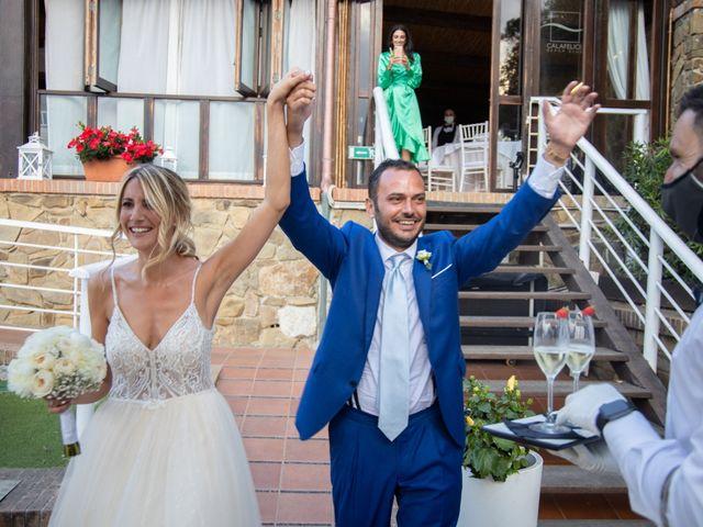 Il matrimonio di Valentina e Stefano a Massa Marittima, Grosseto 56