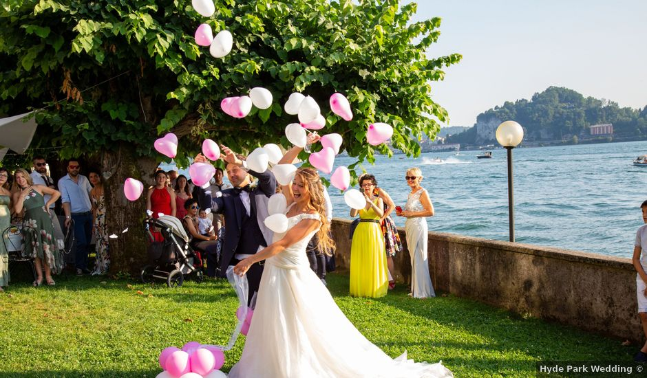 Il matrimonio di Riccardo e Anna a Angera, Varese