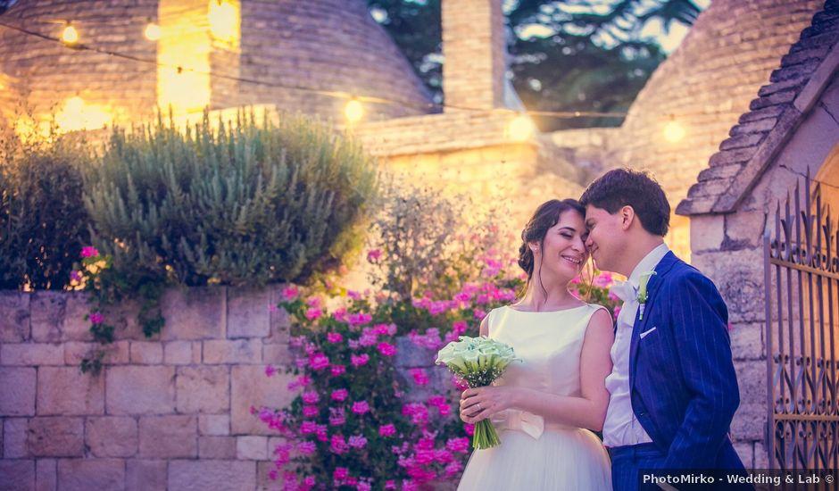 Il matrimonio di Daniela e Ivo a Alberobello, Bari