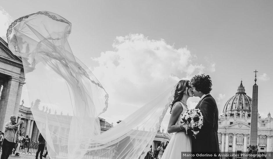 Il matrimonio di Francesca e Daniele a Roma, Roma