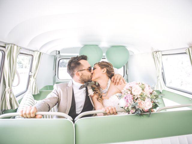 le nozze di Wanda e Alessandro