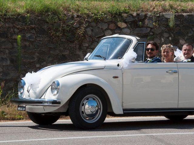 Il matrimonio di Filippo e Barbara a Sumirago, Varese 26