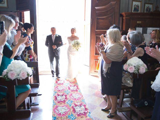Il matrimonio di Filippo e Barbara a Sumirago, Varese 28