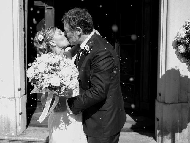 Il matrimonio di Filippo e Barbara a Sumirago, Varese 42