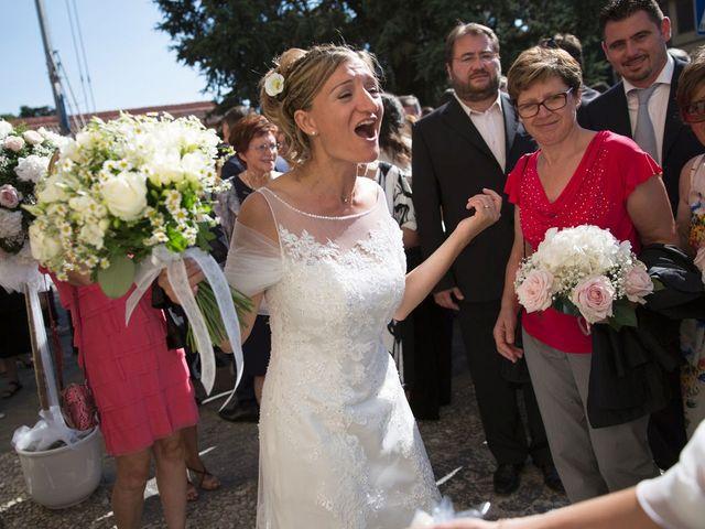 Il matrimonio di Filippo e Barbara a Sumirago, Varese 44