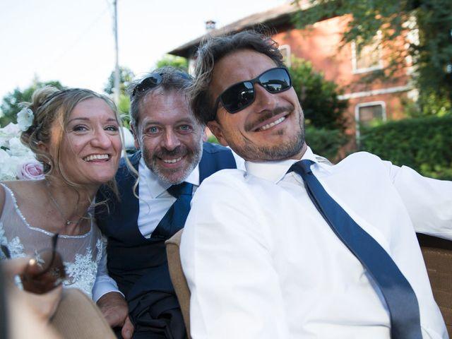 Il matrimonio di Filippo e Barbara a Sumirago, Varese 50
