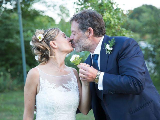 Il matrimonio di Filippo e Barbara a Sumirago, Varese 62
