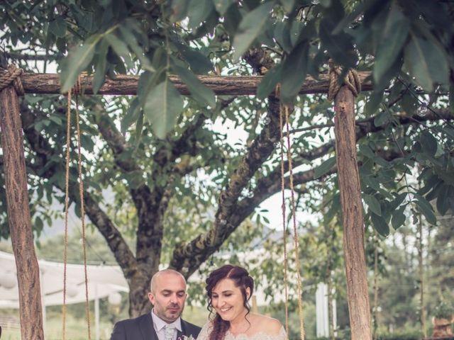 Il matrimonio di Cristiano e Federica a Carpineto Romano, Roma 19