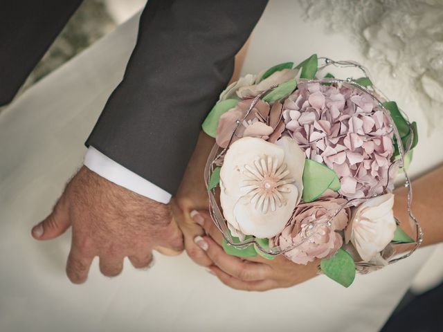 Il matrimonio di Cristiano e Federica a Carpineto Romano, Roma 20