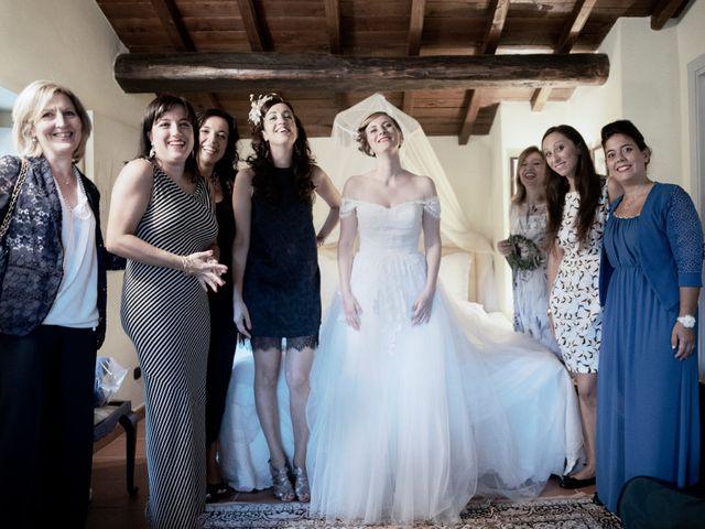 Il matrimonio di Martina e Giosuè a Bassano in Teverina, Viterbo 8