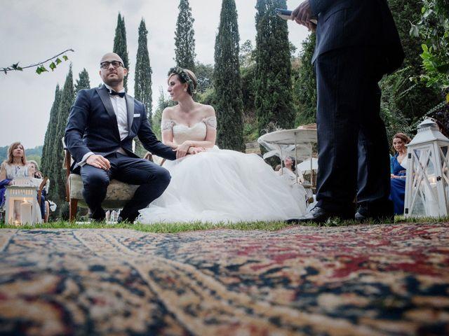 Il matrimonio di Martina e Giosuè a Bassano in Teverina, Viterbo 16
