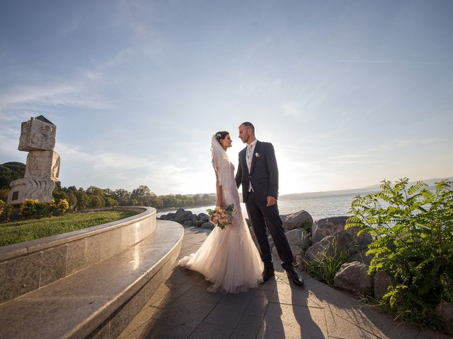 Il matrimonio di Valerio e Fabiana a Anguillara Sabazia, Roma 15